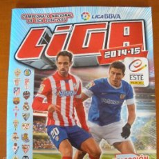 Coleccionismo deportivo: ALBUM DE CROMOS VACIO - LIGA FUTBOL 2014-2015. Lote 57119311