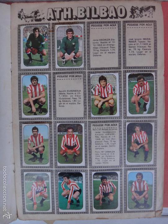 Coleccionismo deportivo: ALBUM FUTBOL , LIGA 1976 1977 , 76 77 , EDICIONES ESTE, INCOMPLETO , VER FOTOS , ORIGINAL , K - Foto 2 - 57158361