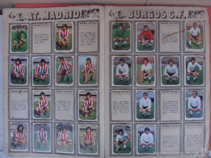 Coleccionismo deportivo: ALBUM FUTBOL , LIGA 1976 1977 , 76 77 , EDICIONES ESTE, INCOMPLETO , VER FOTOS , ORIGINAL , K - Foto 3 - 57158361