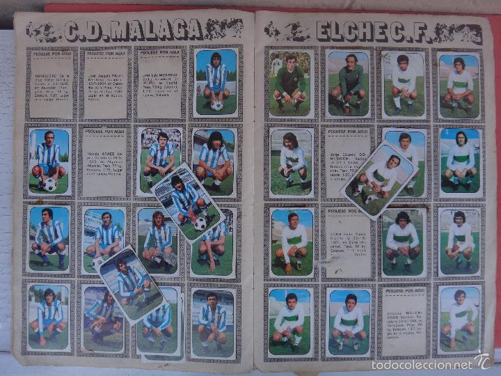 Coleccionismo deportivo: ALBUM FUTBOL , LIGA 1976 1977 , 76 77 , EDICIONES ESTE, INCOMPLETO , VER FOTOS , ORIGINAL , K - Foto 4 - 57158361