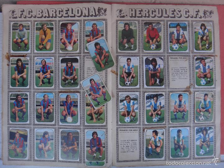 Coleccionismo deportivo: ALBUM FUTBOL , LIGA 1976 1977 , 76 77 , EDICIONES ESTE, INCOMPLETO , VER FOTOS , ORIGINAL , K - Foto 5 - 57158361