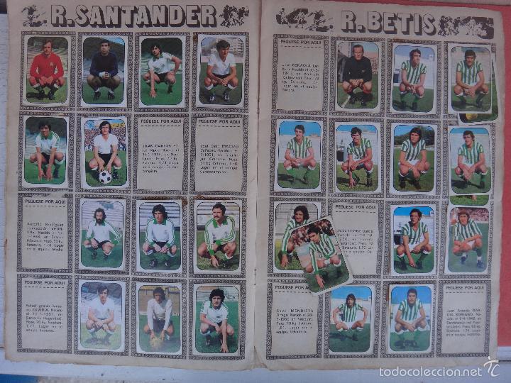 Coleccionismo deportivo: ALBUM FUTBOL , LIGA 1976 1977 , 76 77 , EDICIONES ESTE, INCOMPLETO , VER FOTOS , ORIGINAL , K - Foto 6 - 57158361