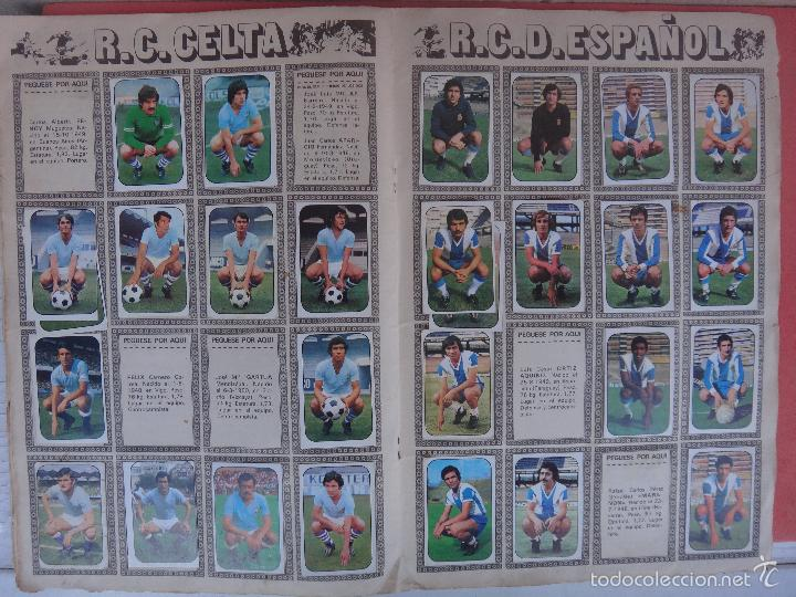 Coleccionismo deportivo: ALBUM FUTBOL , LIGA 1976 1977 , 76 77 , EDICIONES ESTE, INCOMPLETO , VER FOTOS , ORIGINAL , K - Foto 7 - 57158361