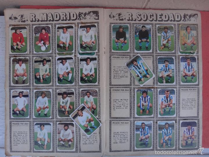 Coleccionismo deportivo: ALBUM FUTBOL , LIGA 1976 1977 , 76 77 , EDICIONES ESTE, INCOMPLETO , VER FOTOS , ORIGINAL , K - Foto 8 - 57158361