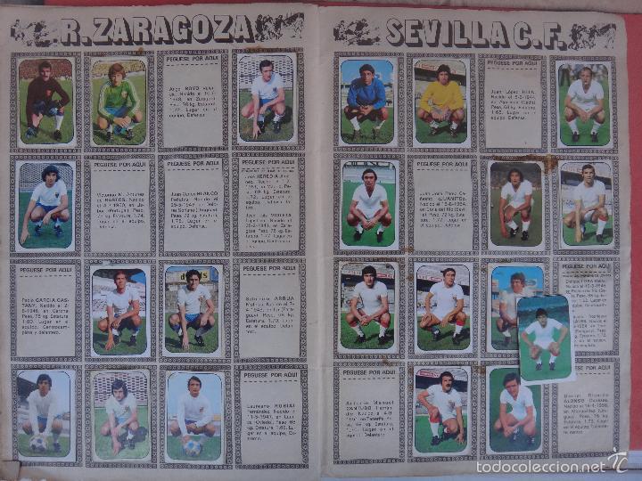 Coleccionismo deportivo: ALBUM FUTBOL , LIGA 1976 1977 , 76 77 , EDICIONES ESTE, INCOMPLETO , VER FOTOS , ORIGINAL , K - Foto 9 - 57158361