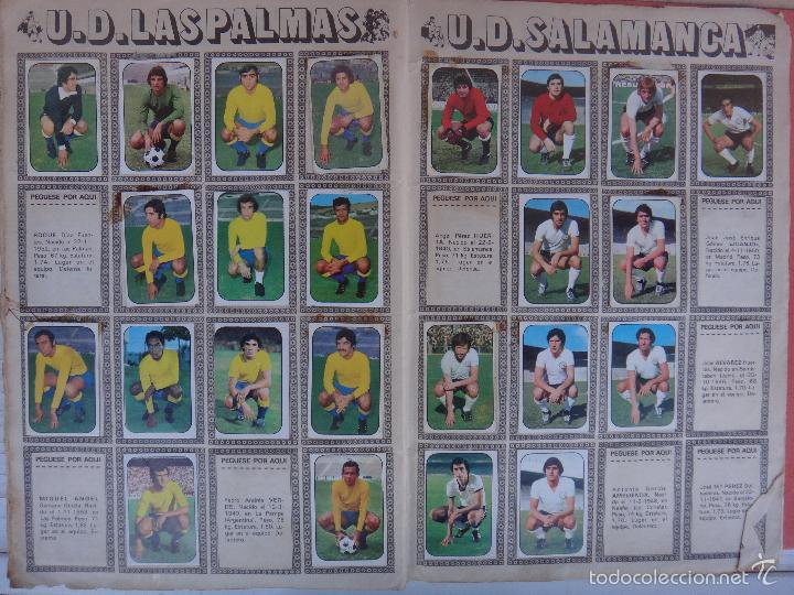 Coleccionismo deportivo: ALBUM FUTBOL , LIGA 1976 1977 , 76 77 , EDICIONES ESTE, INCOMPLETO , VER FOTOS , ORIGINAL , K - Foto 10 - 57158361
