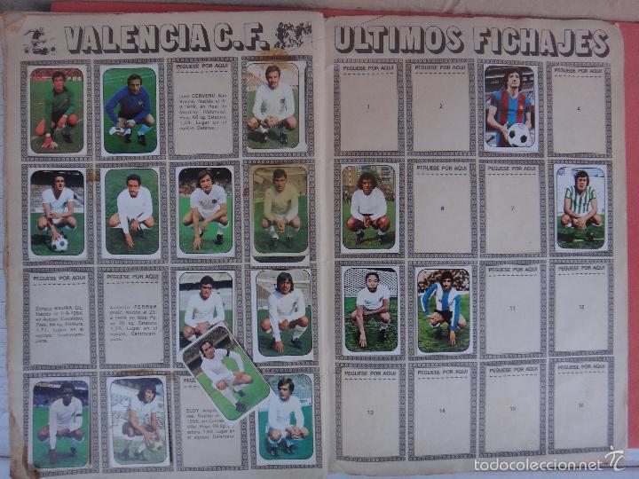 Coleccionismo deportivo: ALBUM FUTBOL , LIGA 1976 1977 , 76 77 , EDICIONES ESTE, INCOMPLETO , VER FOTOS , ORIGINAL , K - Foto 11 - 57158361