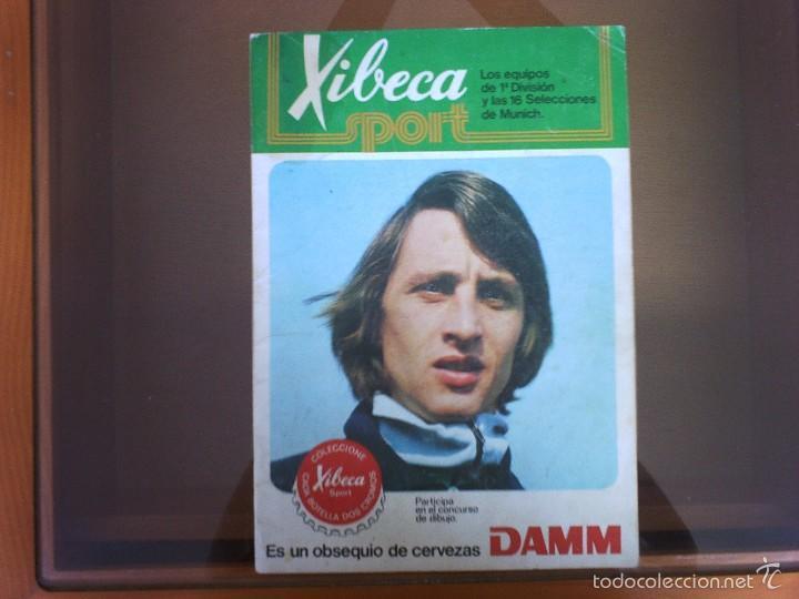 ALBUM XIBECA LIGA 73-74 Y MUNICH 74 (Coleccionismo Deportivo - Álbumes y Cromos de Deportes - Álbumes de Fútbol Incompletos)