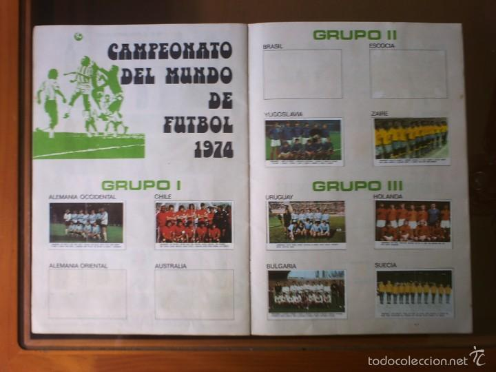 Coleccionismo deportivo: ALBUM XIBECA LIGA 73-74 Y MUNICH 74 - Foto 4 - 130824203
