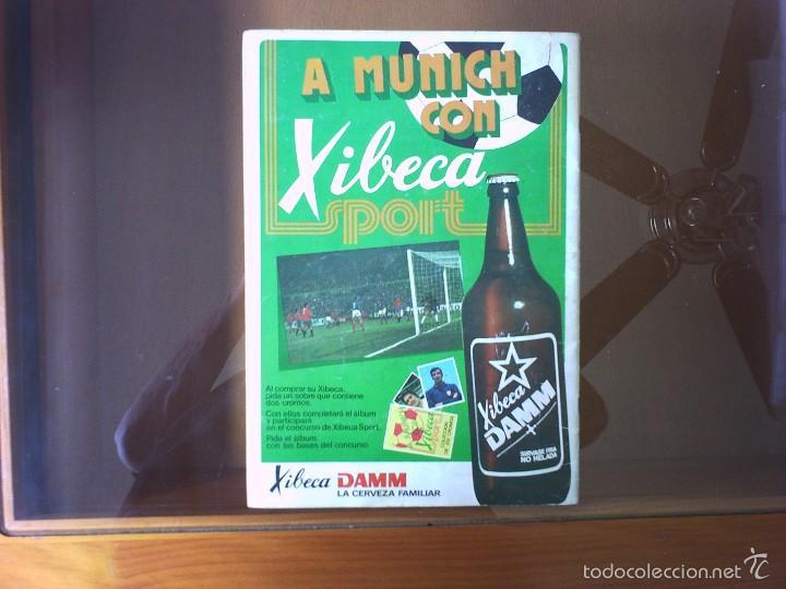 Coleccionismo deportivo: ALBUM XIBECA LIGA 73-74 Y MUNICH 74 - Foto 5 - 130824203