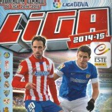 Coleccionismo deportivo: ALBUM LIGA 2014-15, CAMPEONATO NACIONAL DE LIGA 2014-2015, INCOMPLETO ALBUM DE CROMOS TIENE 213. Lote 57228535