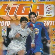 Coleccionismo deportivo: ALBUM LIGA ESTE 2010-11, CAMPEONATO NACIONAL DE LIGA 2010-2011, ALBUM DE CROMOS (TIENE 156 CROMOS). Lote 57229103