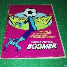 Coleccionismo deportivo: ALBUM BOOMER 1982 INCOMPLETO. Lote 57241744