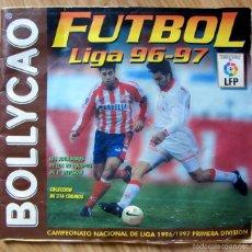 Coleccionismo deportivo: ALBUM FUTBOL BOLLYCAO LIGA 1996-97 96/97 CON 41 CROMOS. Lote 57286071