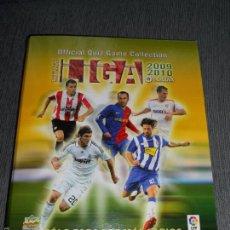 Coleccionismo deportivo: ALBUM FICHERO ARCHIVADOR ANILLAS VACIO SIN CROMOS MUNDICROMO LIGA FUTBOL QUIZ GAME 2009 2010 09 10. Lote 57290655