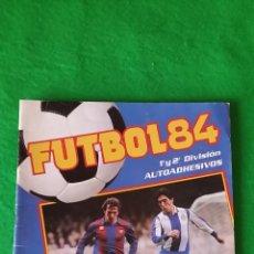Coleccionismo deportivo: ALBUM FUTBOL 84 DE PANINI. Lote 57441538