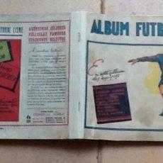 Coleccionismo deportivo: ALBUM FUTBOLÍSTICO 1942 CON LOS 14 EQUIPOS A FALTA DE 9 CROMOS PERO INCLUIDOS LOS DOS GRANDES. Lote 57518183