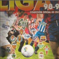 Coleccionismo deportivo: ALBUM LIGA 1998. Lote 57553585