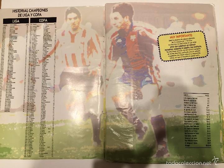 Coleccionismo deportivo: ALBUM DE CROMOS EDICIONES ESTE LIGA TEMPORADA 1993 1994 93 94 CON CROMOS DE CARTÓN - Foto 2 - 57794334
