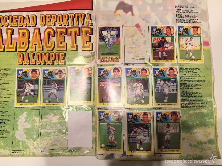 Coleccionismo deportivo: ALBUM DE CROMOS EDICIONES ESTE LIGA TEMPORADA 1993 1994 93 94 CON CROMOS DE CARTÓN - Foto 3 - 57794334