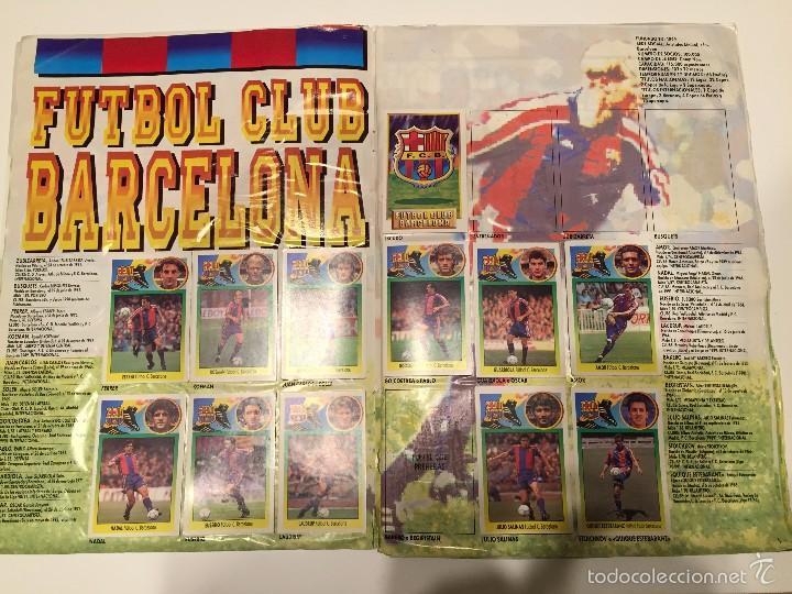 Coleccionismo deportivo: ALBUM DE CROMOS EDICIONES ESTE LIGA TEMPORADA 1993 1994 93 94 CON CROMOS DE CARTÓN - Foto 4 - 57794334