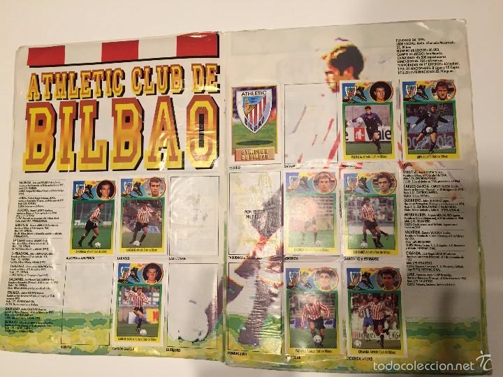 Coleccionismo deportivo: ALBUM DE CROMOS EDICIONES ESTE LIGA TEMPORADA 1993 1994 93 94 CON CROMOS DE CARTÓN - Foto 5 - 57794334