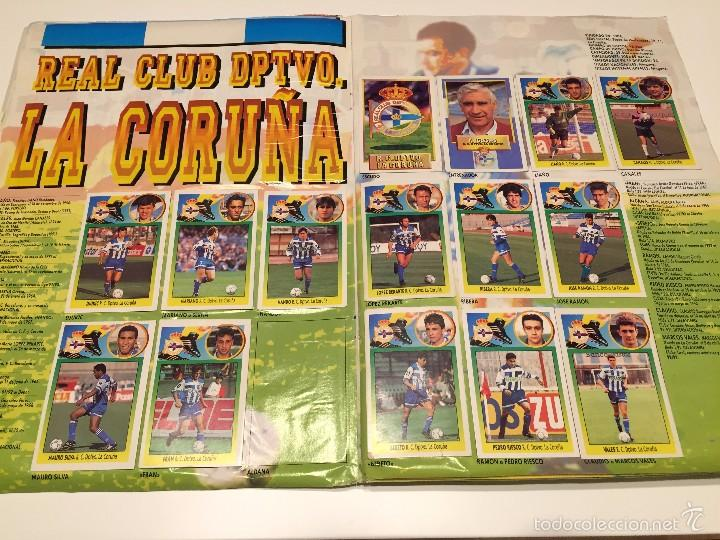 Coleccionismo deportivo: ALBUM DE CROMOS EDICIONES ESTE LIGA TEMPORADA 1993 1994 93 94 CON CROMOS DE CARTÓN - Foto 7 - 57794334