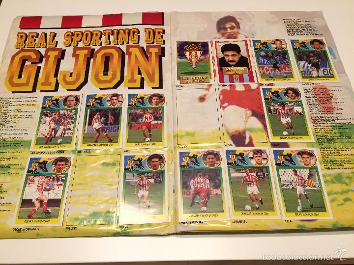 Coleccionismo deportivo: ALBUM DE CROMOS EDICIONES ESTE LIGA TEMPORADA 1993 1994 93 94 CON CROMOS DE CARTÓN - Foto 8 - 57794334