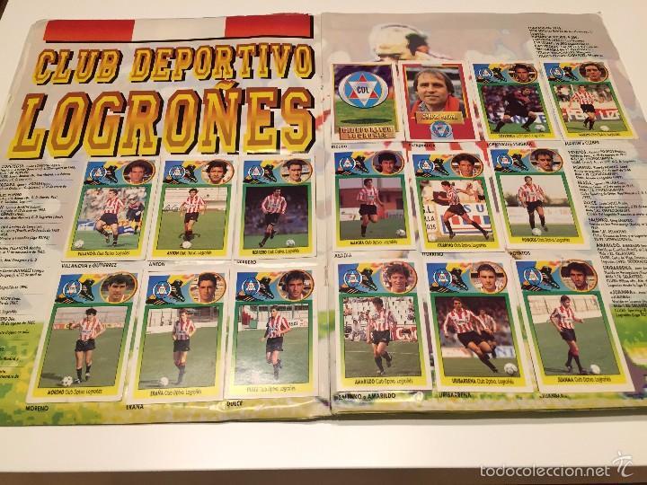 Coleccionismo deportivo: ALBUM DE CROMOS EDICIONES ESTE LIGA TEMPORADA 1993 1994 93 94 CON CROMOS DE CARTÓN - Foto 9 - 57794334