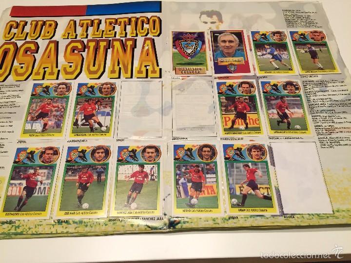 Coleccionismo deportivo: ALBUM DE CROMOS EDICIONES ESTE LIGA TEMPORADA 1993 1994 93 94 CON CROMOS DE CARTÓN - Foto 13 - 57794334