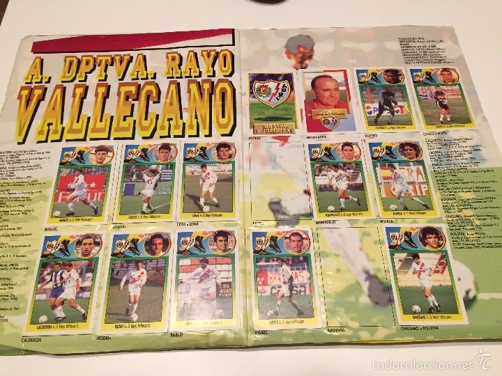 Coleccionismo deportivo: ALBUM DE CROMOS EDICIONES ESTE LIGA TEMPORADA 1993 1994 93 94 CON CROMOS DE CARTÓN - Foto 15 - 57794334