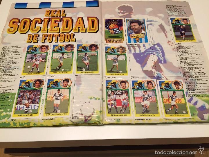 Coleccionismo deportivo: ALBUM DE CROMOS EDICIONES ESTE LIGA TEMPORADA 1993 1994 93 94 CON CROMOS DE CARTÓN - Foto 18 - 57794334