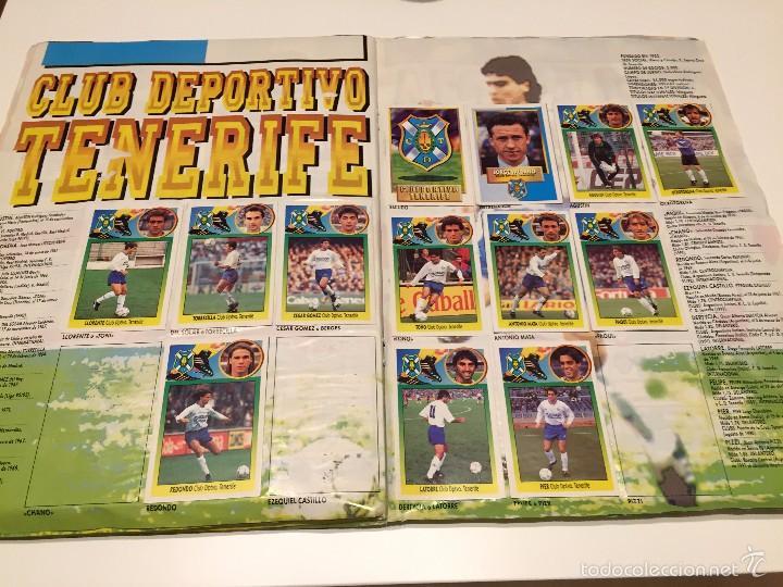 Coleccionismo deportivo: ALBUM DE CROMOS EDICIONES ESTE LIGA TEMPORADA 1993 1994 93 94 CON CROMOS DE CARTÓN - Foto 19 - 57794334