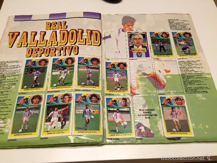 Coleccionismo deportivo: ALBUM DE CROMOS EDICIONES ESTE LIGA TEMPORADA 1993 1994 93 94 CON CROMOS DE CARTÓN - Foto 21 - 57794334