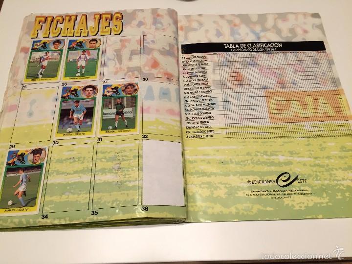 Coleccionismo deportivo: ALBUM DE CROMOS EDICIONES ESTE LIGA TEMPORADA 1993 1994 93 94 CON CROMOS DE CARTÓN - Foto 24 - 57794334