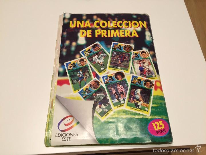 Coleccionismo deportivo: ALBUM DE CROMOS EDICIONES ESTE LIGA TEMPORADA 1993 1994 93 94 CON CROMOS DE CARTÓN - Foto 25 - 57794334