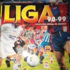 Coleccionismo deportivo: ALBUM CROMOS FUTBOL LIGA 98 99 - PANINI. Lote 57868360