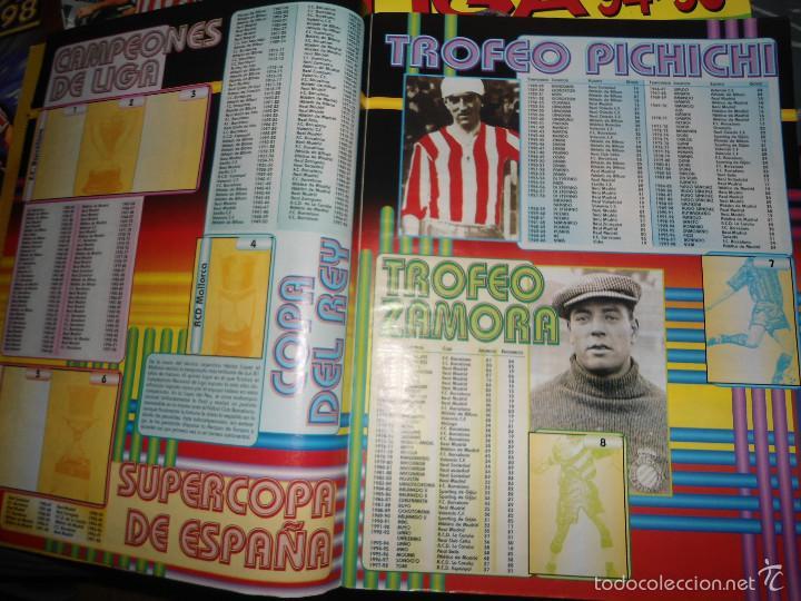 Coleccionismo deportivo: ALBUM CROMOS FUTBOL LIGA 98 99 - PANINI - Foto 3 - 57868360