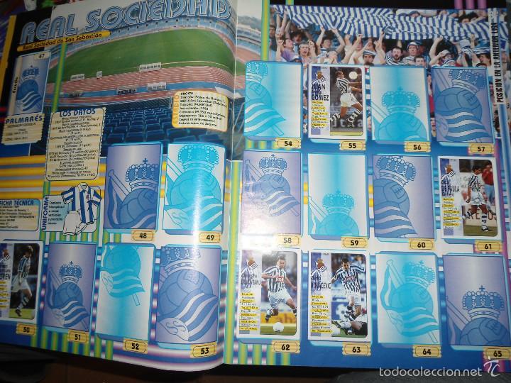 Coleccionismo deportivo: ALBUM CROMOS FUTBOL LIGA 98 99 - PANINI - Foto 6 - 57868360