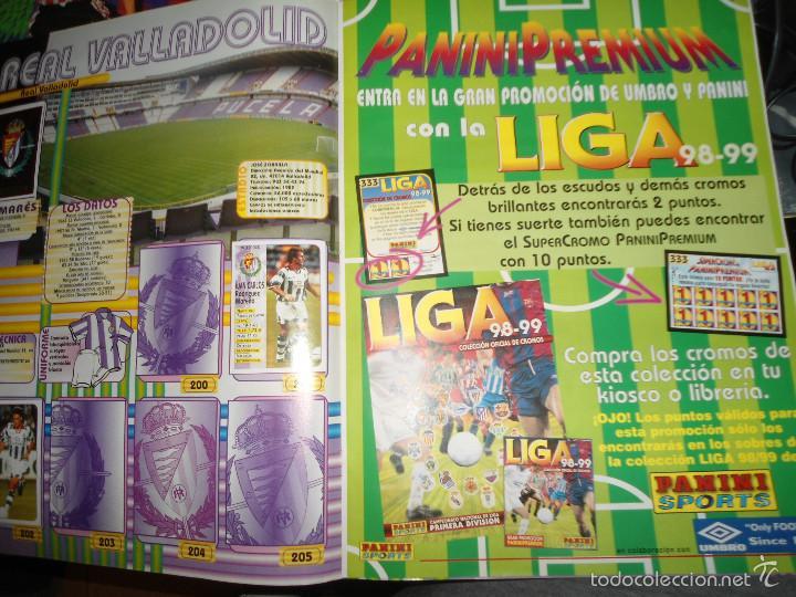 Coleccionismo deportivo: ALBUM CROMOS FUTBOL LIGA 98 99 - PANINI - Foto 14 - 57868360