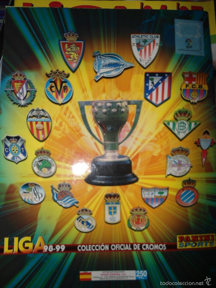 Coleccionismo deportivo: ALBUM CROMOS FUTBOL LIGA 98 99 - PANINI - Foto 26 - 57868360