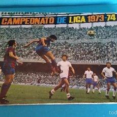 Coleccionismo deportivo: ÁLBUM DE FUTBOL DISGRA LIGA 73 74. Lote 57979385