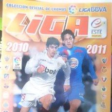 Coleccionismo deportivo: ALBUM VACIO - LIGA 2010-2011 COLECCION OFICIAL CROMOS LIGA BBVA PANINI --REFM1E4. Lote 58088840