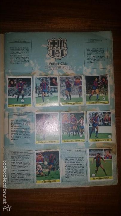 Coleccionismo deportivo: ALBUM LIGA 81 - 82, ESTE, INCOMPLETO CON 167 CROMOS - Foto 2 - 58106364