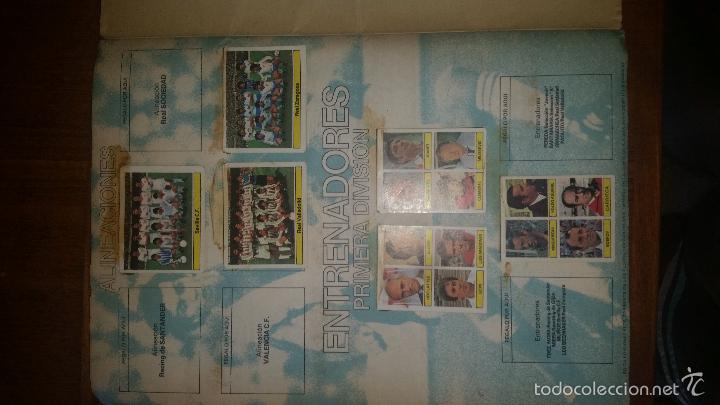 Coleccionismo deportivo: ALBUM LIGA 81 - 82, ESTE, INCOMPLETO CON 167 CROMOS - Foto 3 - 58106364