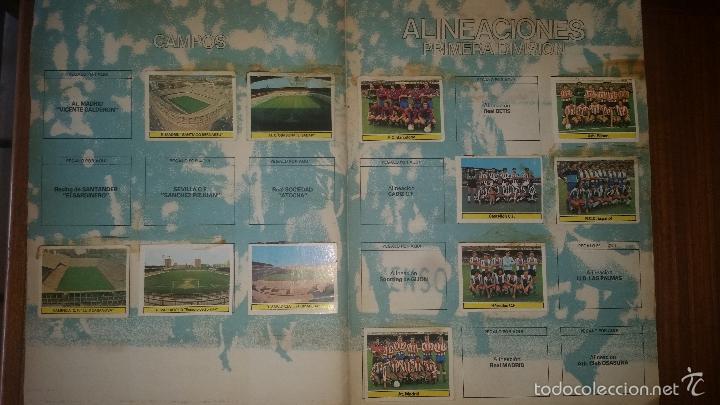 Coleccionismo deportivo: ALBUM LIGA 81 - 82, ESTE, INCOMPLETO CON 167 CROMOS - Foto 4 - 58106364