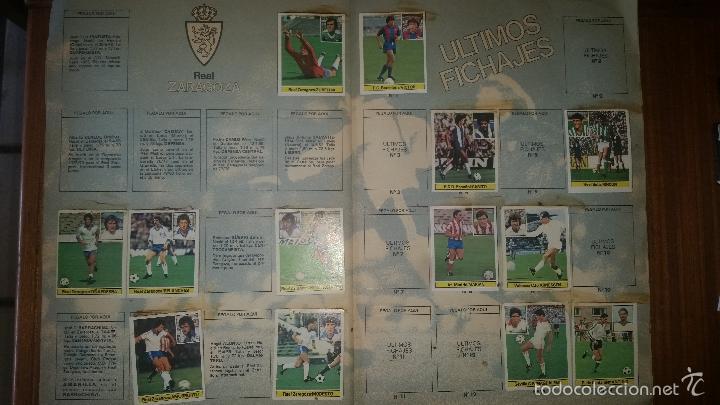 Coleccionismo deportivo: ALBUM LIGA 81 - 82, ESTE, INCOMPLETO CON 167 CROMOS - Foto 6 - 58106364