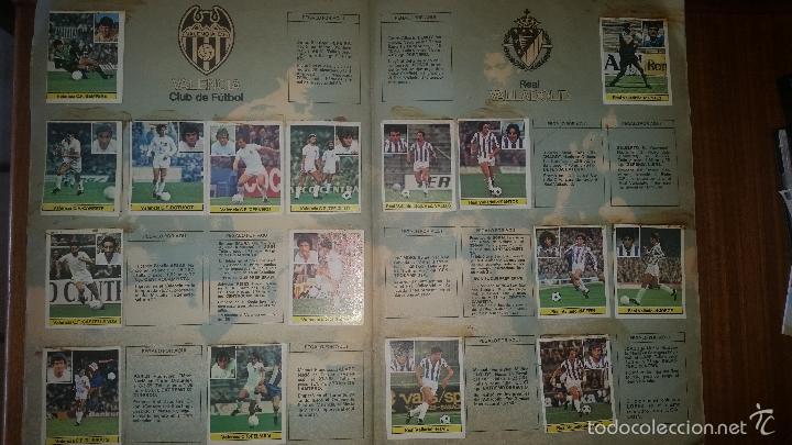 Coleccionismo deportivo: ALBUM LIGA 81 - 82, ESTE, INCOMPLETO CON 167 CROMOS - Foto 7 - 58106364