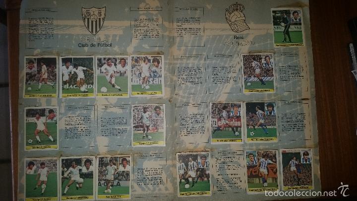 Coleccionismo deportivo: ALBUM LIGA 81 - 82, ESTE, INCOMPLETO CON 167 CROMOS - Foto 8 - 58106364