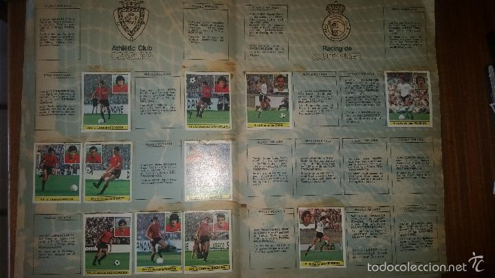 Coleccionismo deportivo: ALBUM LIGA 81 - 82, ESTE, INCOMPLETO CON 167 CROMOS - Foto 9 - 58106364